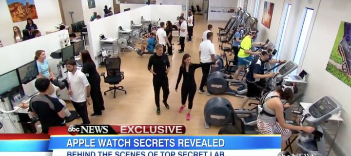 Journalists Good Morning America visited in a secret laboratory Apple