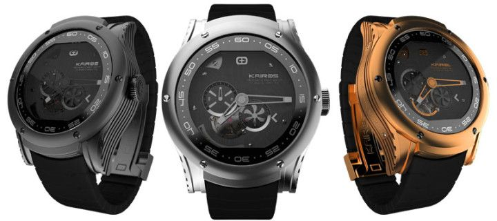 Kairos has introduced a hybrid analog and the smart watches