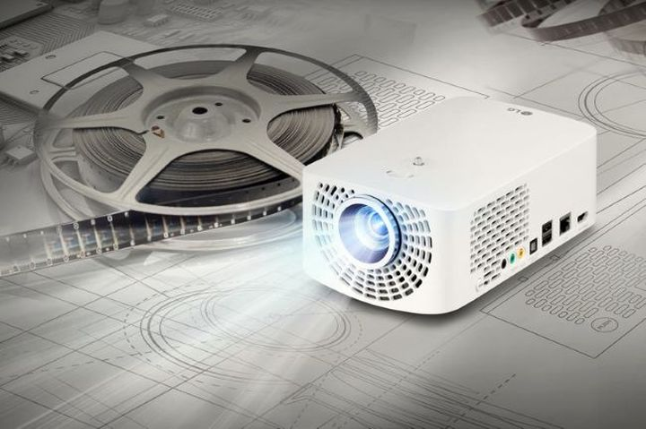 LG introduced mini projector Minibeam Pro