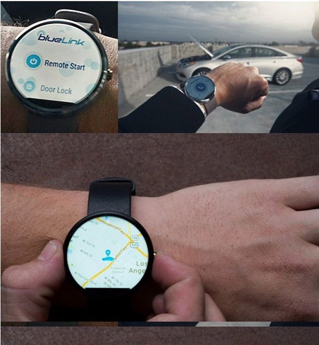 Manage Hyundai directly from their watches