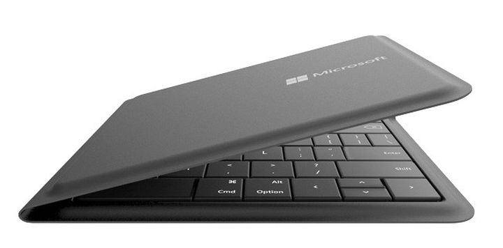 Microsoft introduced universal new foldable keyboard