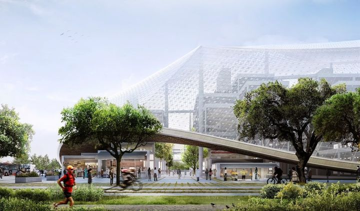The new and modern headquarters will be a fantastic Google