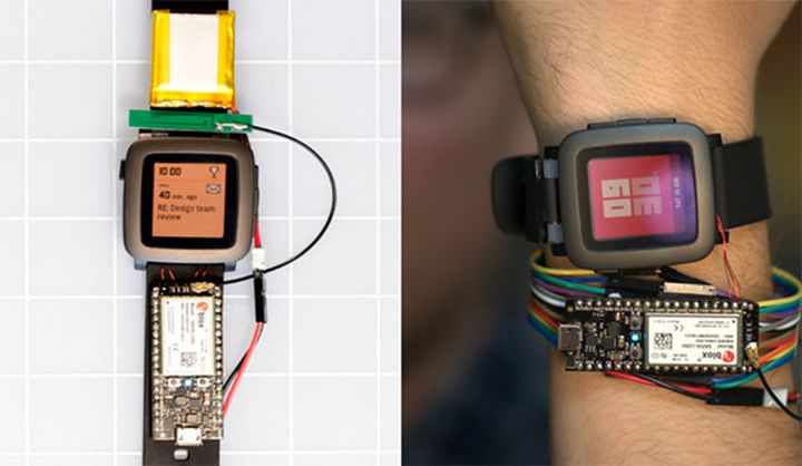 Pebble knows how to motivate developers smart straps