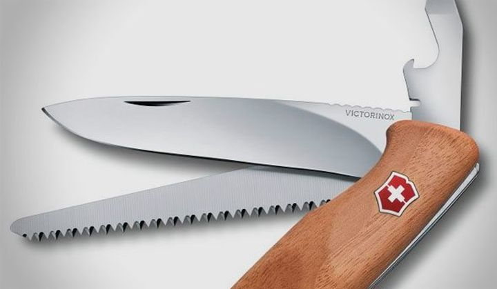 Pocket multifunction knife new Victorinox RangerWood 55