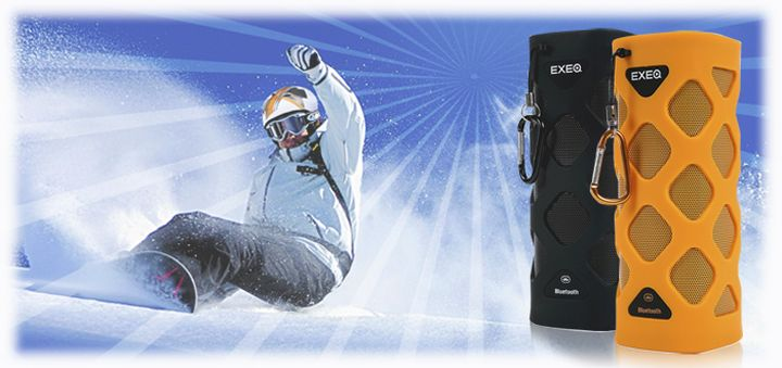 New portable Bluetooth speaker for extreme Exeq SPK-1208