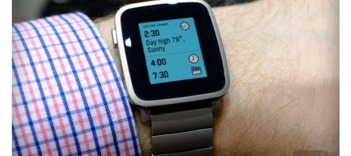 Press conference of Apple caused an increase in popularity Pebble