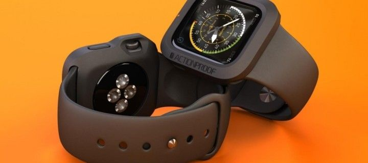 Protect Apple Watch rubber bumper