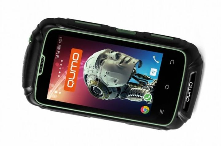 Protected new smartphone hiking Qumo Quest Defender