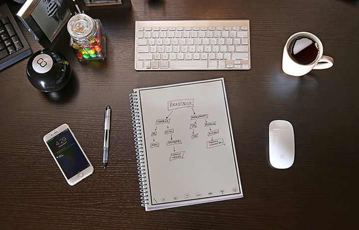 Rocketbook digitizes your notes and washed in the microwave