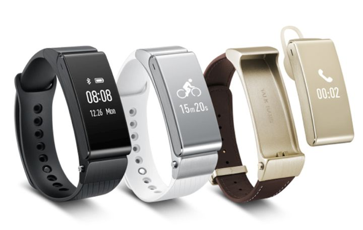 The new second-generation tracker Huawei TalkBand B2 received a stylish design