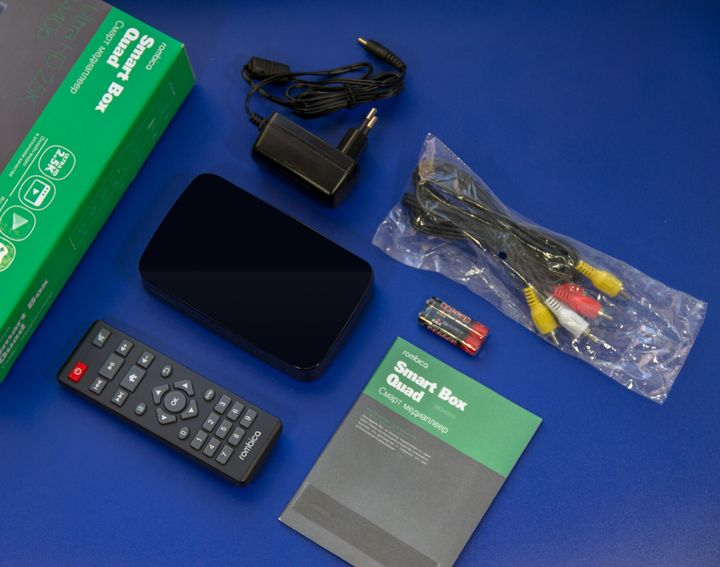Set-top boxes for Android review: Rombica Smart Box Quad