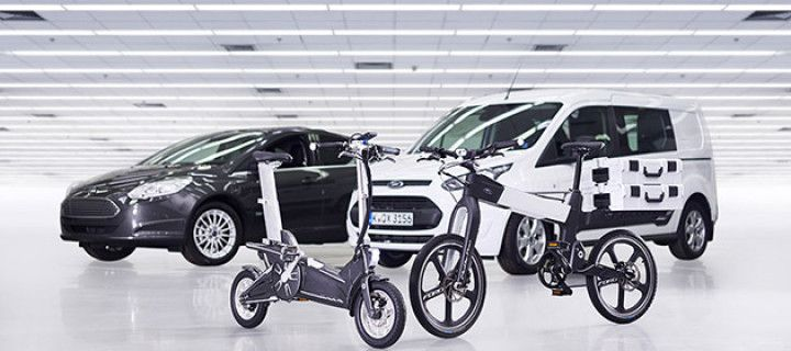 New smart bikes Ford will go for you
