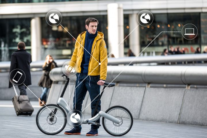 "Smart JIVR Bike ""communicates"" with all smart devices"