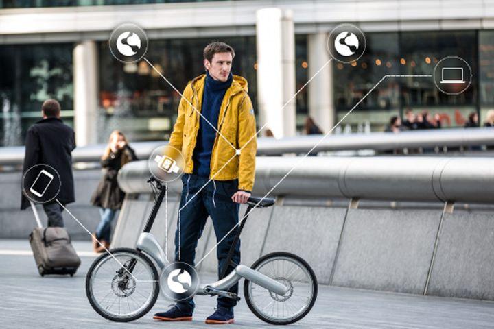 "Smart JIVR Bike ""communicates"" with all smart devices"