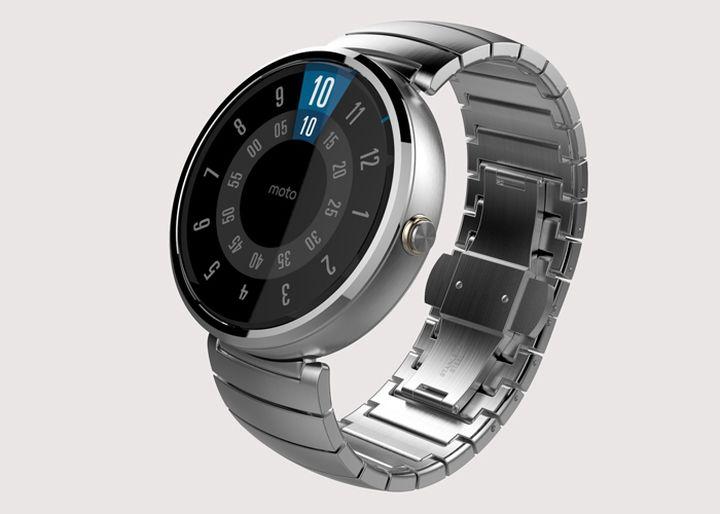 """""""Smart"""" watch Moto 360 acquire service personalization"""