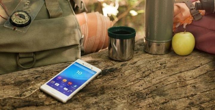 Stylish new smartphone picnic Xperia M4 Aqua from Sony