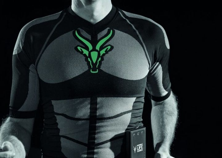 Suit for training with the electrodes will increase the effectiveness of your training