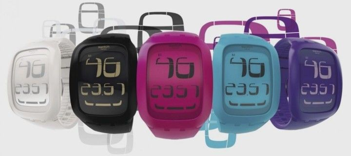 The first Swatch smart watches with NFC option will appear in May