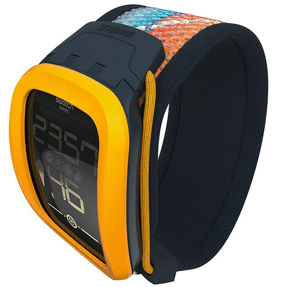 New Swatch Touch Zero One track your activity volleyball