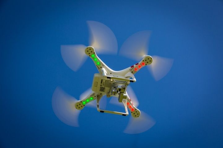 System for air traffic control will use drones in the sky