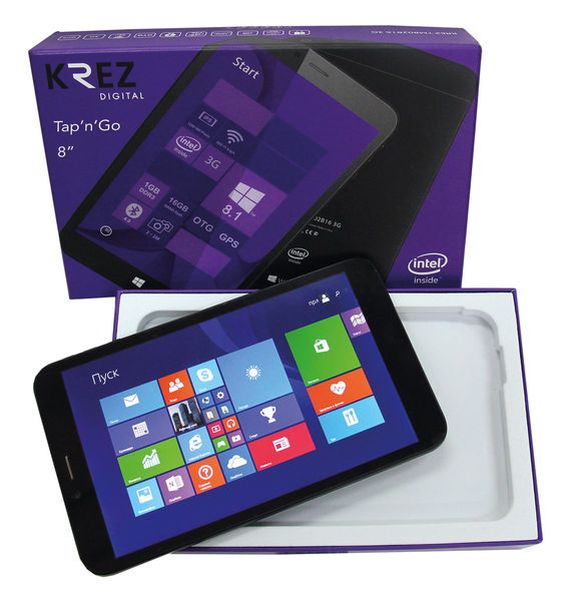 New Tablet PC KREZ TM802B16: who is behind the newcomer?