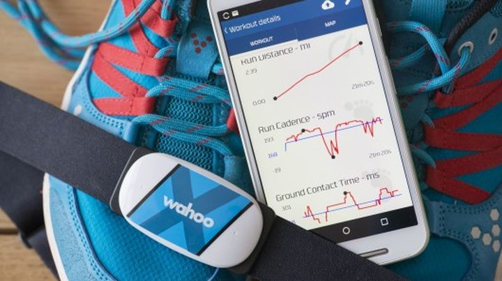 Tickr X allows you to monitor the heart rhythm and intensity of workouts