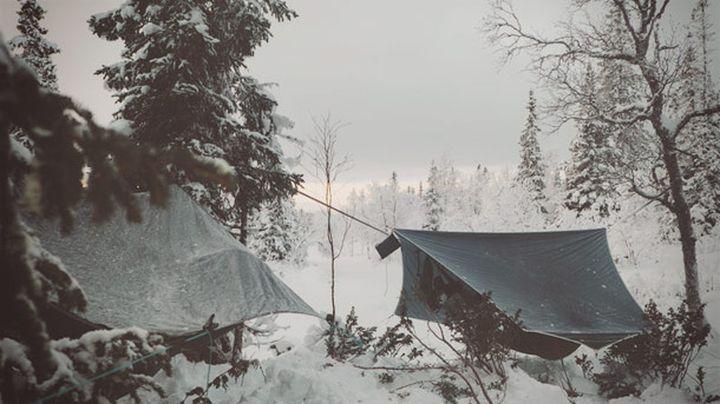 Travel hammock Amok Draumr 2.0