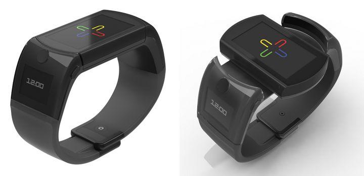 UB: Smart watch with rotating display