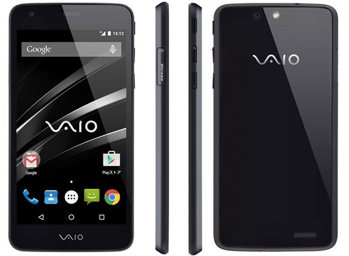 VAIO announced the first new smartphone