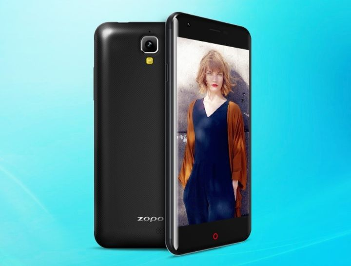 ZOPO showed new TOUCH smartphone with a curved 2,5D-screen