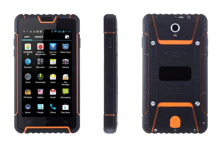 The new 8-core smartphone with powerful protection Cruiser BT55