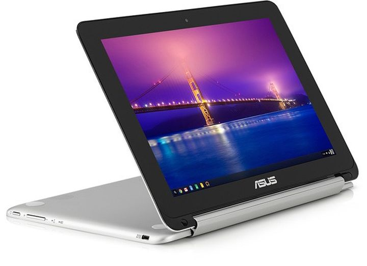 "Chromebook Flip - metal ""transformer"" from ASUS"