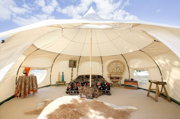 Lotus Belle Outback Deluxe: luxury tent for $ 2,300