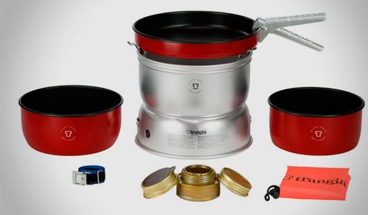 TRANGIA 25-5 UL / R And TRANGIA 27-5 UL / R - NEW KITS FOR COOKING