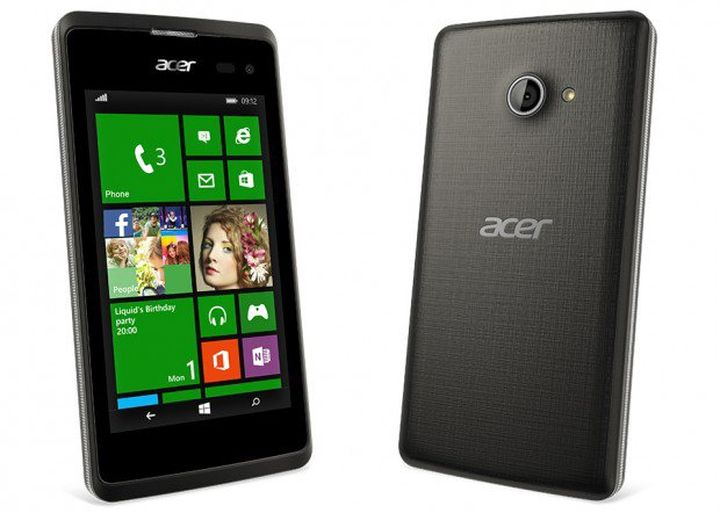 Acer Liquid M220 new phone on Windows Phone OS