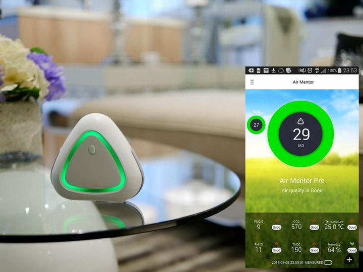 Air Mentor will help determine the degree of contamination your home