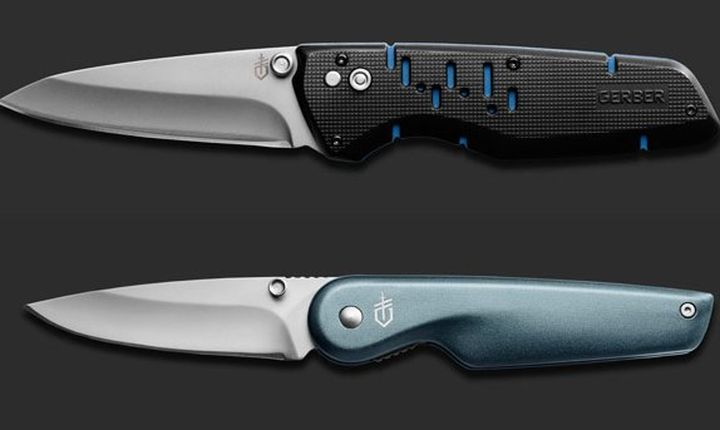 AIRFOIL And SKYRIDGE - NEW FOLDING KNIVES FROM GERBER