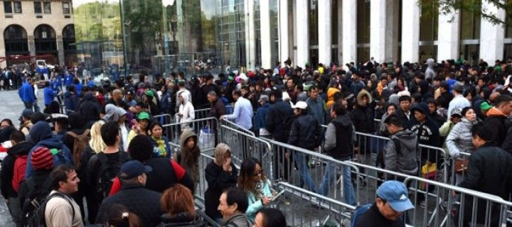 Apple wants to avoid many kilometers of queue
