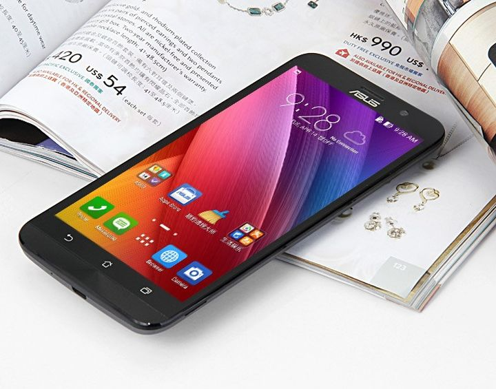 ASUS ZenFone 2: Phablet with 4 GB of RAM for 338 dollars