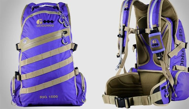 NEW backpack GEIGERRIG for Spring 2015