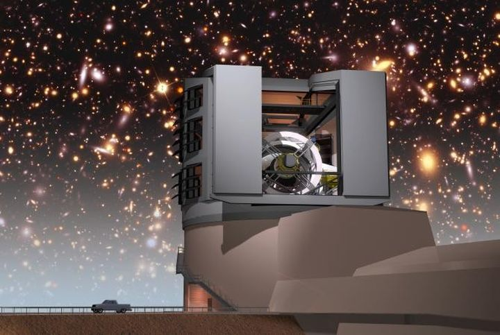 Camera on the 3200 MP helps to explore dark energy