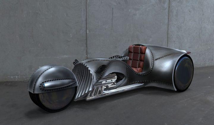 """Captain Kirk"" has created a stunning bike Rivet"