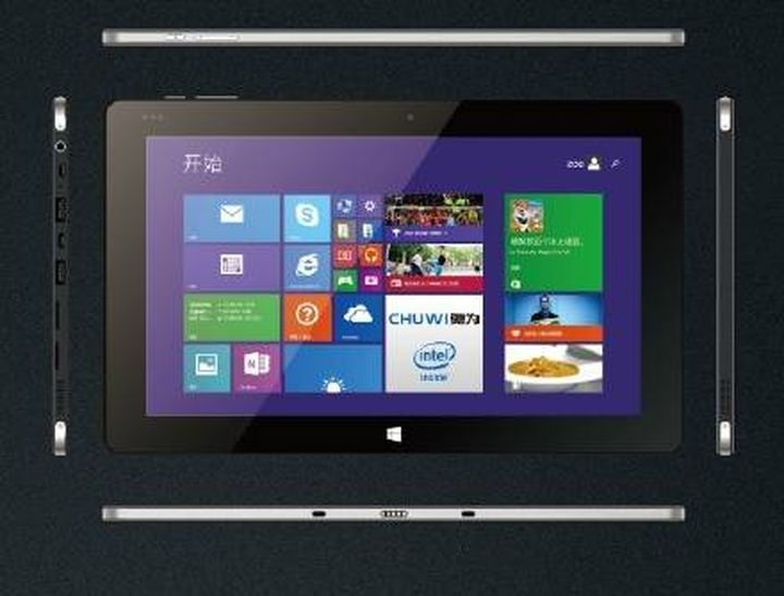 Chuwi Vi10 tablet unites Windows and Android