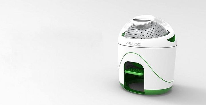 Drumi - new ecological washing machine