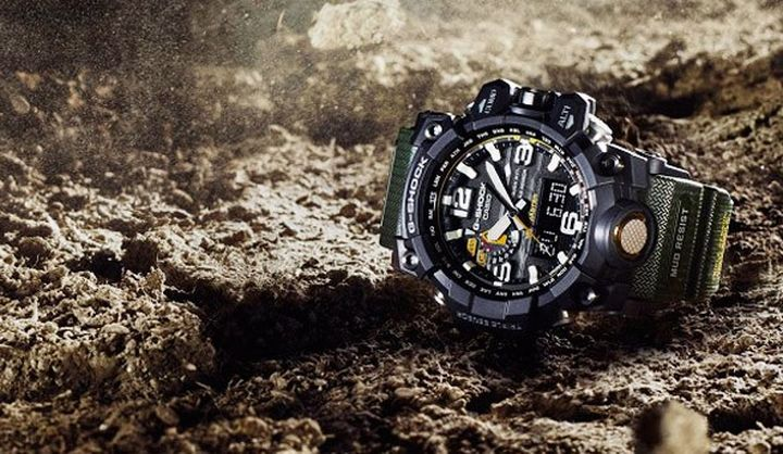 Durable and functional WATCH CASIO G-Shock MudMaster GWG-1000