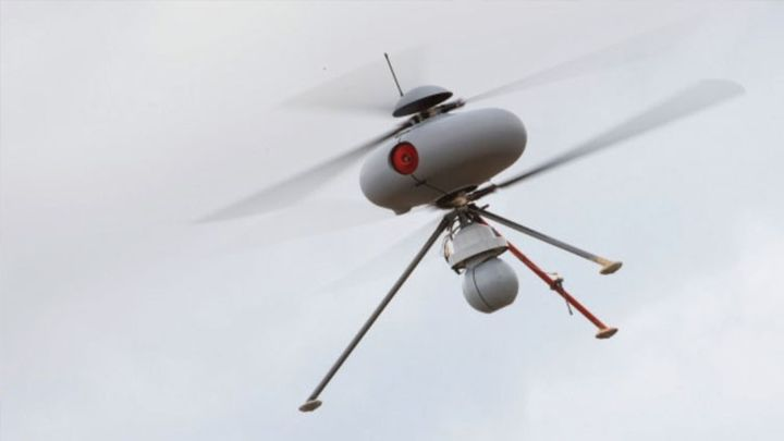 The French created the hunter on the drones