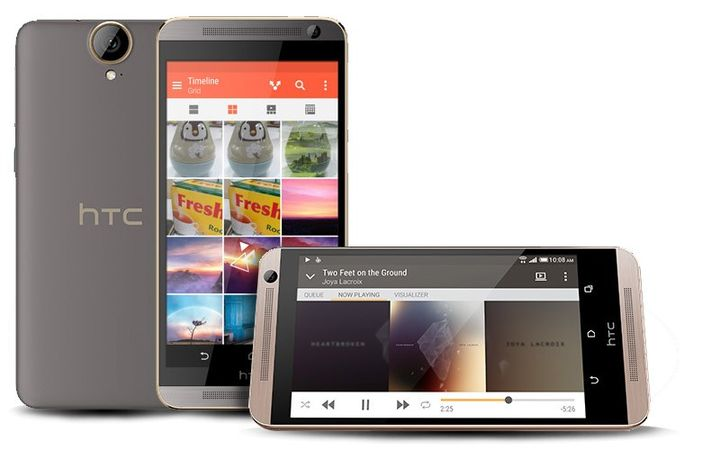Full specifications HTC One E9 + appeared on the official site