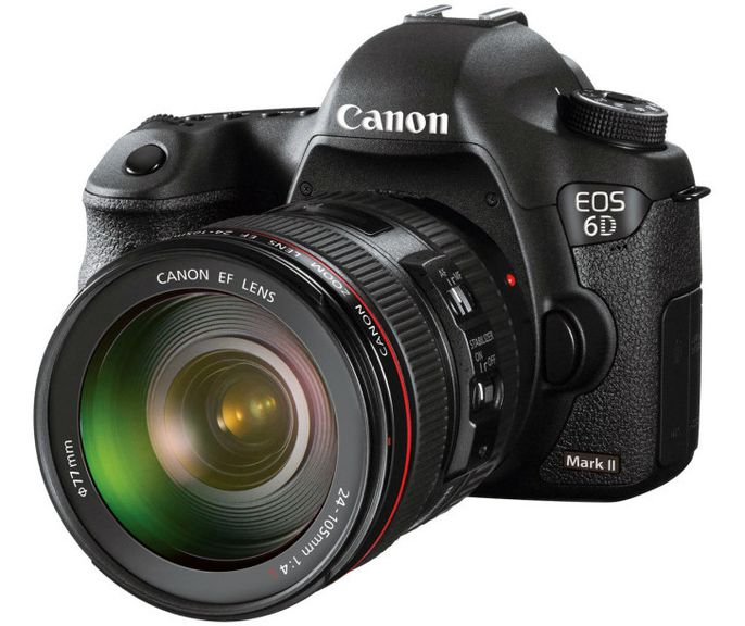 The new generation of the camera Canon EOS 6D Mark II