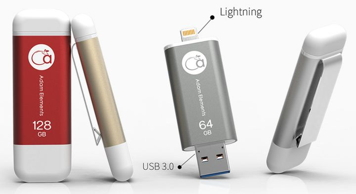 "iKlips: ""lightning"" flash drive for iPhone and iPad"