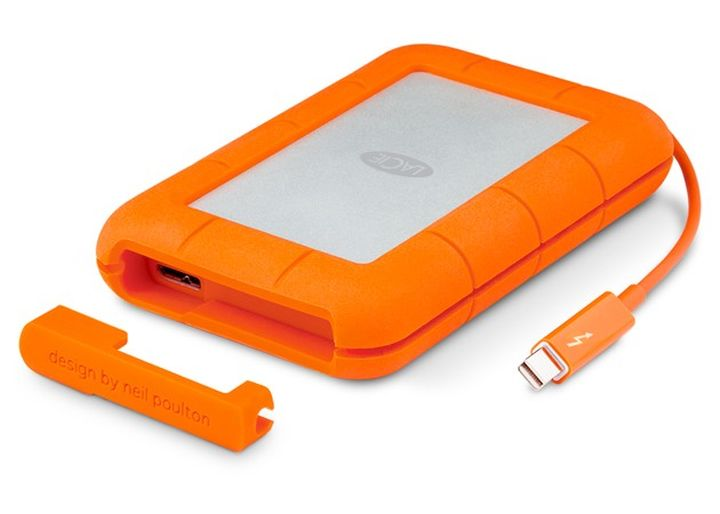 LaCie Rugged Thunderbolt - protected SSD 1 TB